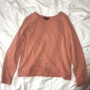 Thick orange/pink sweater